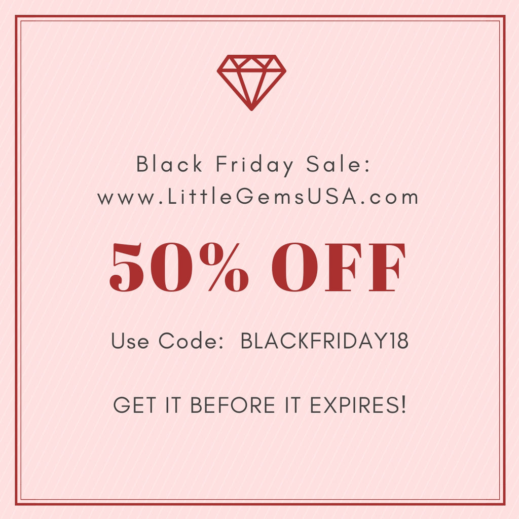 This weekend only:  50% off Black Friday Sale