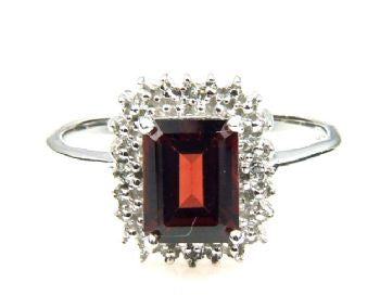 Garnet 1.65 ct Stone Ring - LittleGemsUSA - 2