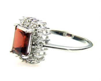 Garnet 1.65 ct Stone Ring - LittleGemsUSA - 3