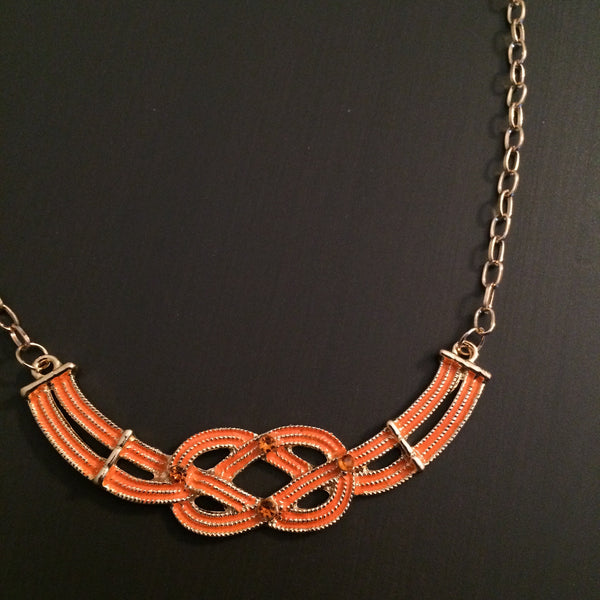 Infinity Knot Necklace - LittleGemsUSA - 3