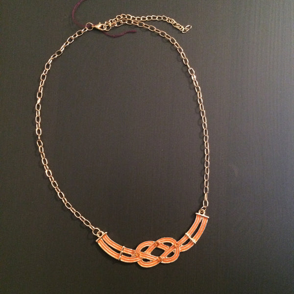Infinity Knot Necklace - LittleGemsUSA - 4