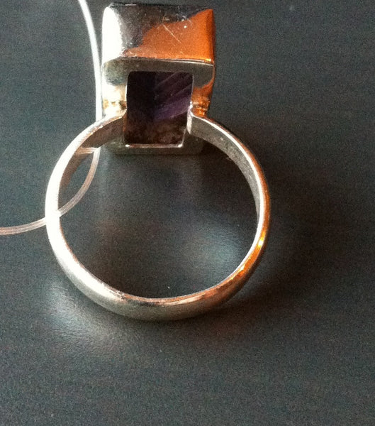 Large Amethyst Ring - LittleGemsUSA - 3