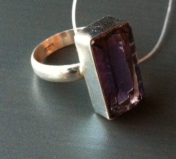 Large Amethyst Ring - LittleGemsUSA - 1