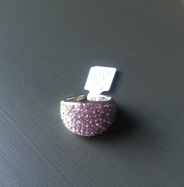 Purple Crystal Ombre Ring - Size 6 - LittleGemsUSA - 4