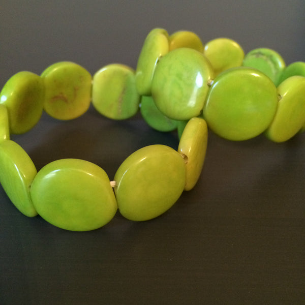 Tagua Seed Bracelets - multiple colors - LittleGemsUSA - 2