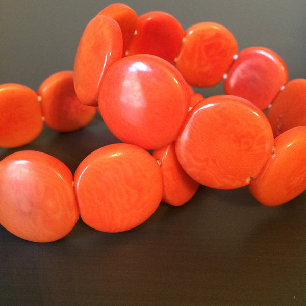 Tagua Seed Bracelets - multiple colors - LittleGemsUSA - 3