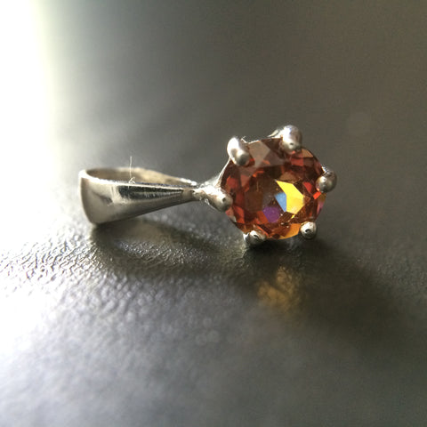 Tiny Topaz Pendant - LittleGemsUSA - 1