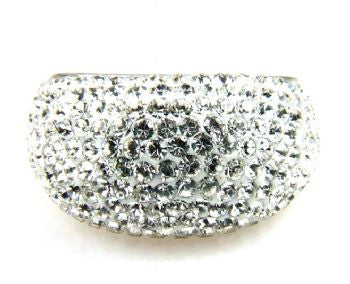 White Crystal Ring - Size 5 - LittleGemsUSA - 2