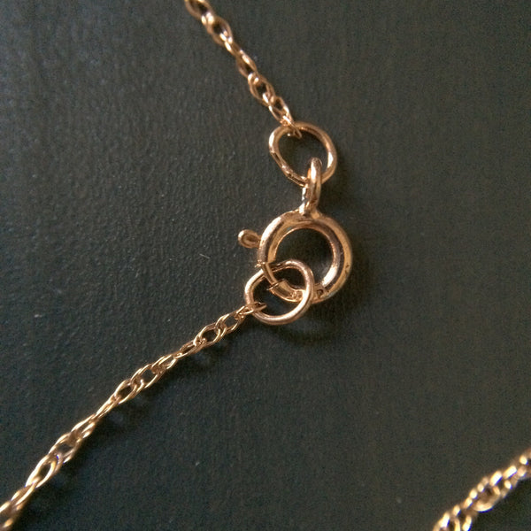 14k Rose Gold Necklace - LittleGemsUSA - 4
