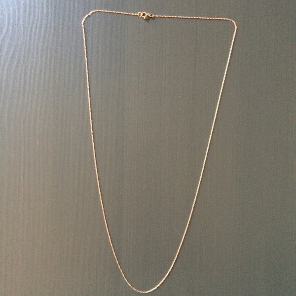 14k Rose Gold Necklace - LittleGemsUSA - 5