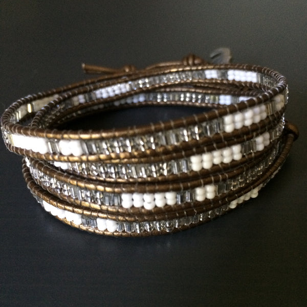 Baby Elephant Leather Wrap Bracelet - LittleGemsUSA - 2