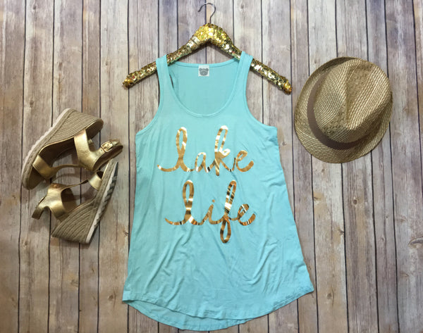 The Lake Life tank - Comfy and Chic Boutique