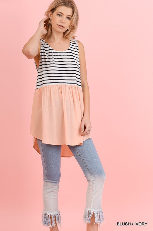 The Logan top in blush - Comfy and Chic Boutique