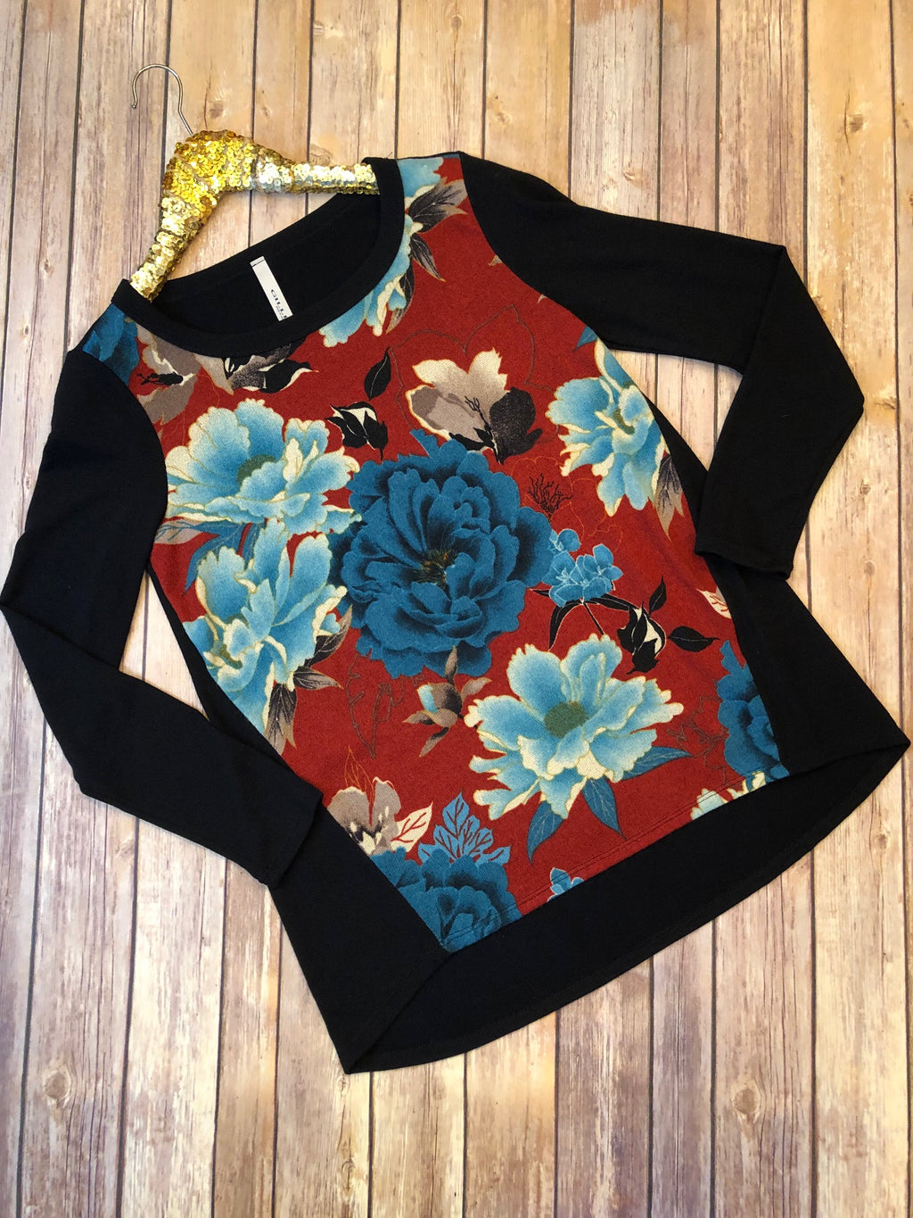 The Floral Sweater - Comfy and Chic Boutique