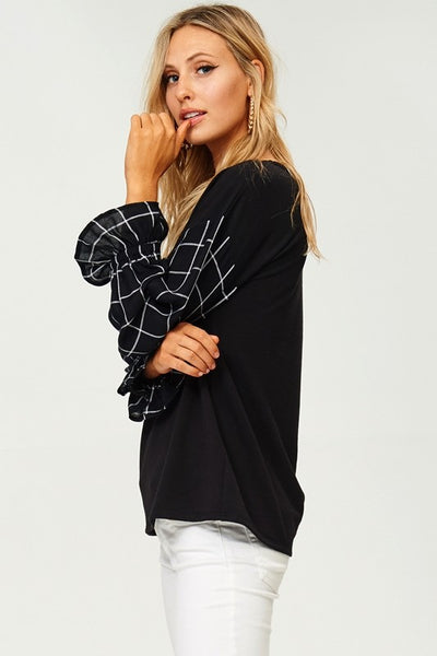 The Alexa Blouse - Comfy and Chic Boutique