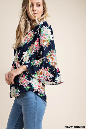 The Kori Floral Top - Comfy and Chic Boutique
