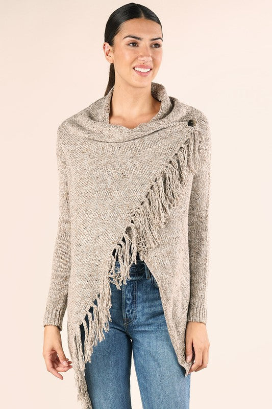 Love Stitch Fringe Sweater - Comfy and Chic Boutique