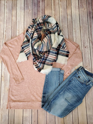The Plaid Square Blanket Scarf - Comfy and Chic Boutique