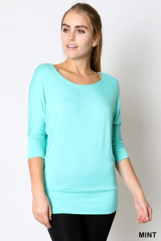 The Everyday Scoop Neck Top - Comfy and Chic Boutique