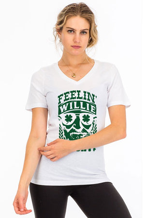 The Feelin' Willie Lucky Tee - Comfy and Chic Boutique