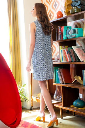 The Sleeveless Embroidered Knit Dress - Comfy and Chic Boutique