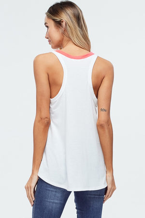TEXAS neon tank top - Comfy and Chic Boutique