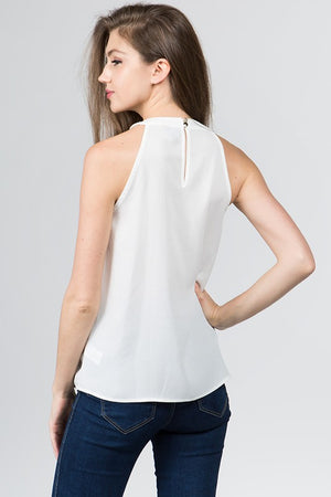 The White Sleeveless Top - Comfy and Chic Boutique