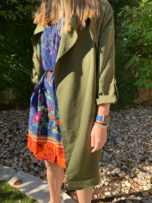 Lightweight Trench Coat - Comfy and Chic Boutique