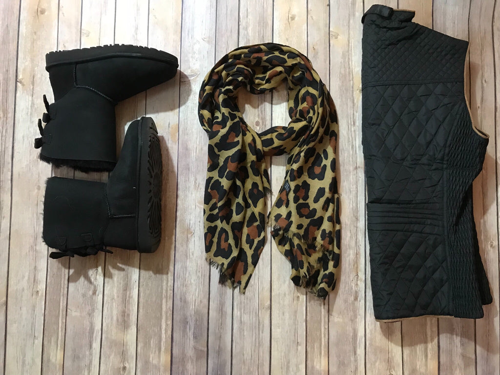 The Animal Print Scarf - Comfy and Chic Boutique