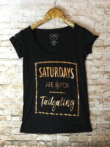 The tailgating tee - Comfy and Chic Boutique