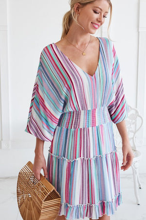 The Sophie Striped Dress - Comfy and Chic Boutique