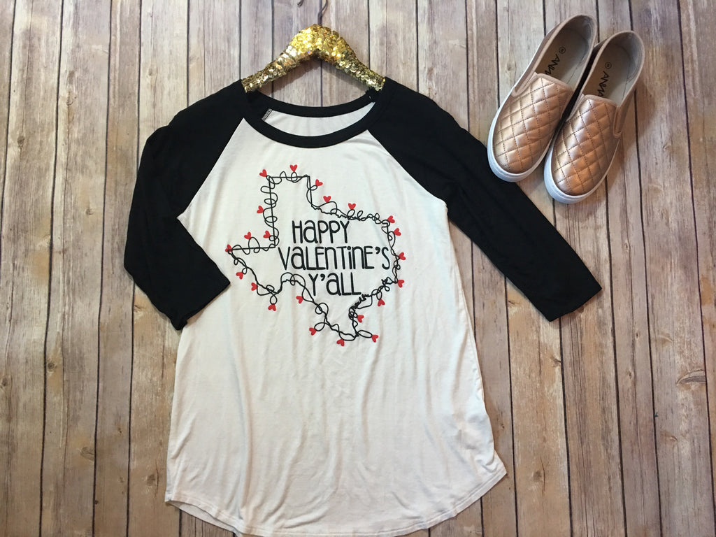 The Valentines Tee - Comfy and Chic Boutique
