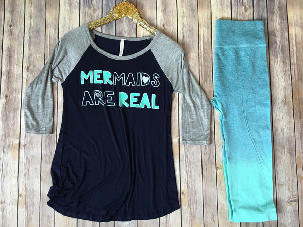 Mermaids are Real - Comfy and Chic Boutique