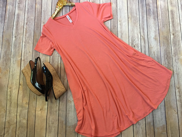 The T-Shirt dress with pockets - Comfy and Chic Boutique