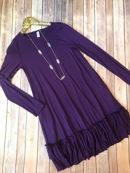 The Barbara Ann tunic in Royal purple - Comfy and Chic Boutique