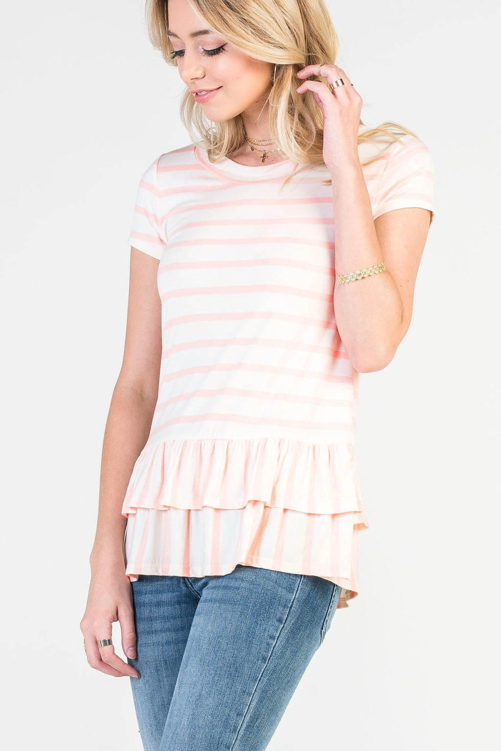 The Preston Top in Blush - Comfy and Chic Boutique