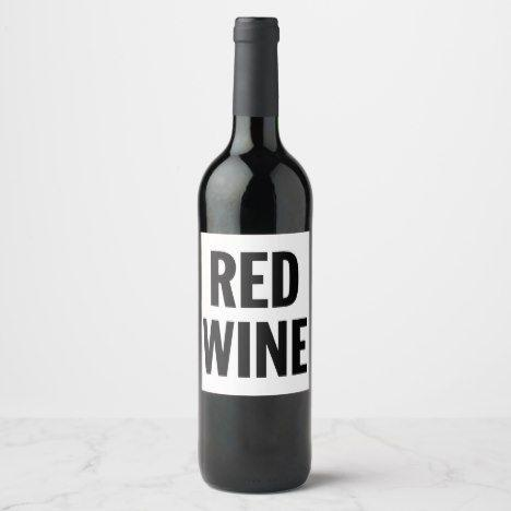 Red Wine (1 Bottle)