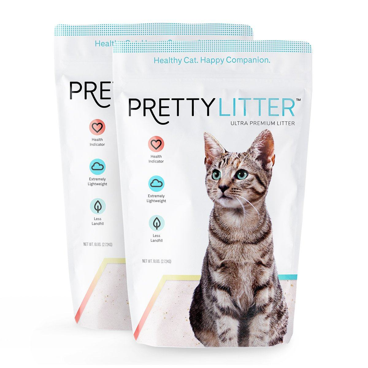 Two Bags of PrettyLitter™ Health Monitoring Cat Litter