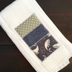 Multi-Purpose Cloth - Fun Whale - Made To Order
