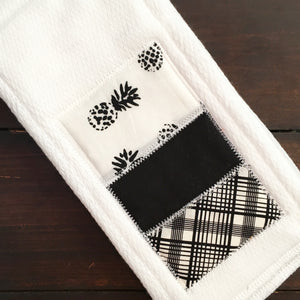 Multi-Purpose Cloth - Ink Spot Pineapple - Made To Order