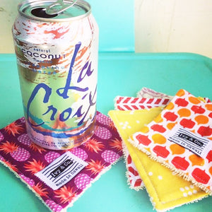 Coaster / Mini Wash Cloth Subscription