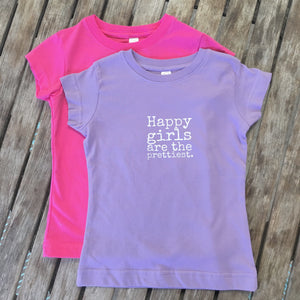 Happy Girls - TODDLER T-Shirt - 2 colors