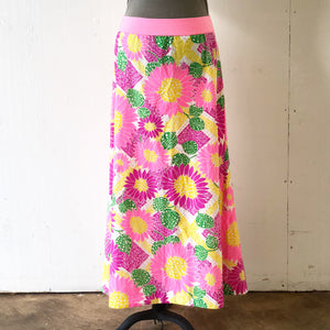 Vintage Mu'umu'u Skirt - Flower Power - Extra Small