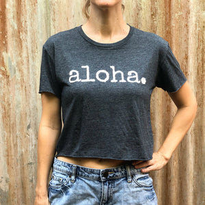 aloha. - Women's Crop Top