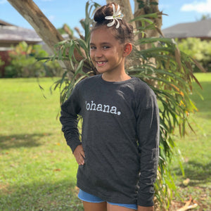 'ohana. - Long Sleeve CHILD T-Shirt