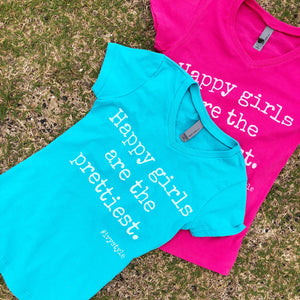 Happy Girls - CHILD V-Neck T-Shirt - 2 colors