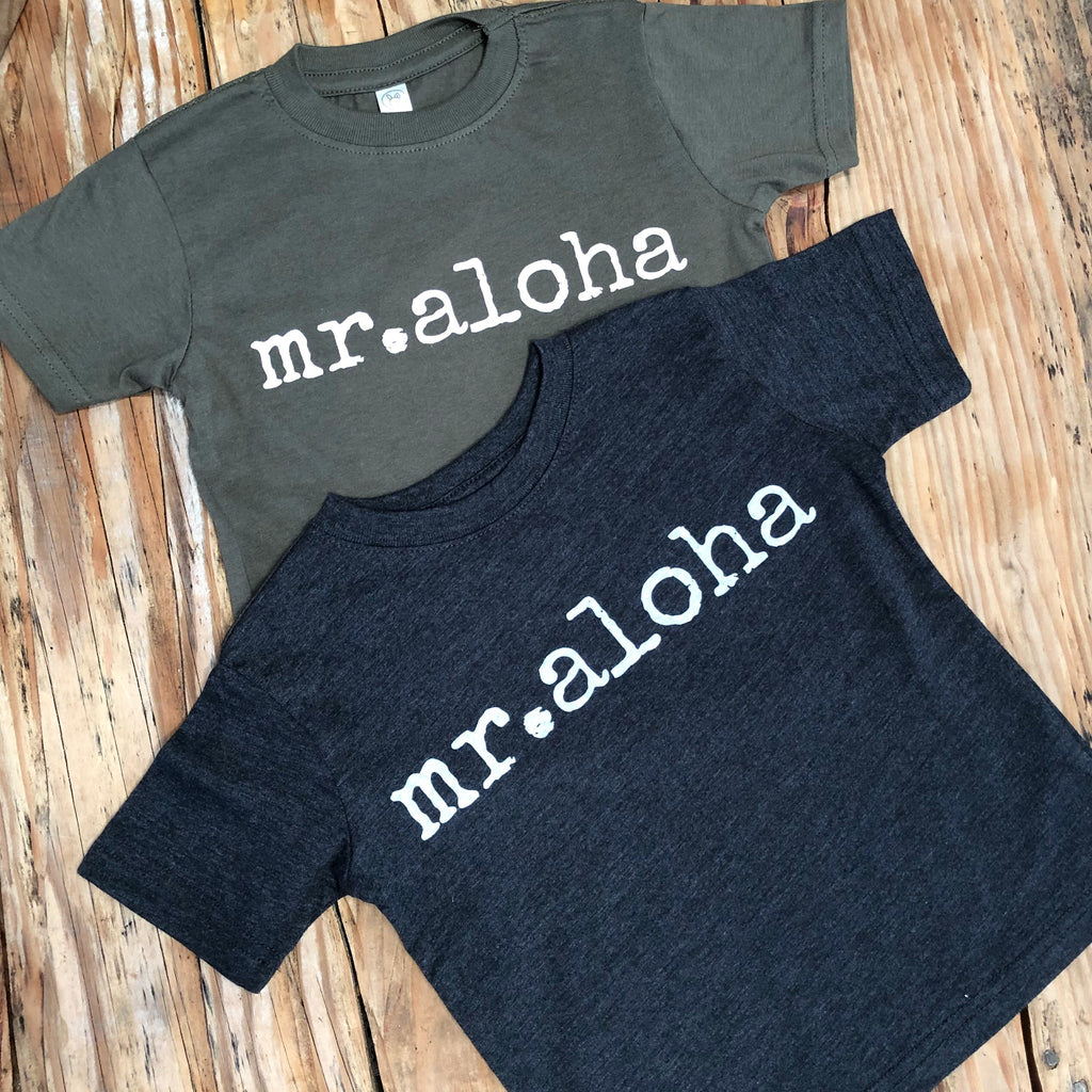 mr. aloha - TODDLER T-Shirt