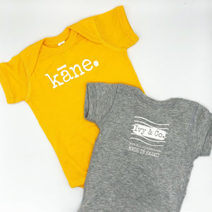 kāne. - BABY onesies - 2 colors