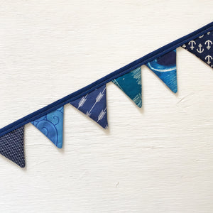 Mini Bunting - Anchor Blue - Only 1!