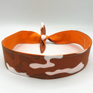 Headband - Brown Camouflage